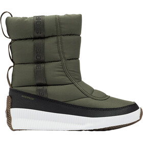 Sorel Out N About Puffy Mid Botas Mujer, Oliva